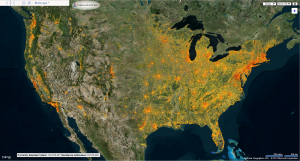 VoterMapping maps all 156 Million Voters in the US to their address in Bing Maps