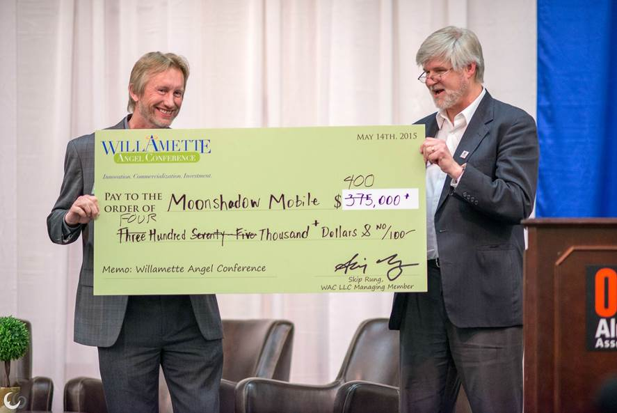 Willamette Angel Conference Check Presentation